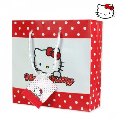 Gift bag 17x17cm<br>Hello Kitty Dots CD