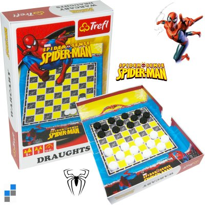 Checkers Disney<br>Spiderman 25.5 x18cm