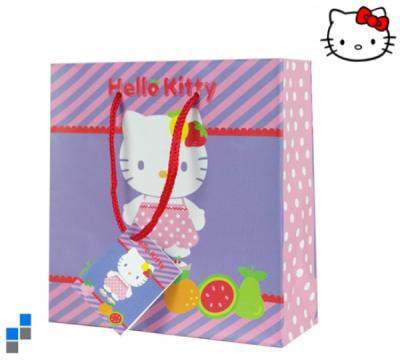 Gift bag 11x14cm S<br>Hello Kitty Fruity