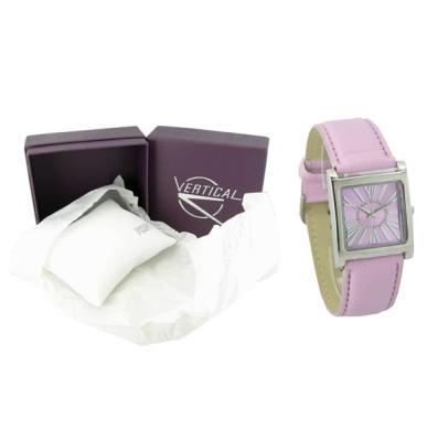 Klasyczny skórzany<br> pasek zegarka<br>SPE830 pionowa