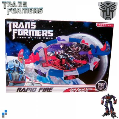 Transformers Rapid<br>Fire Spiel Set