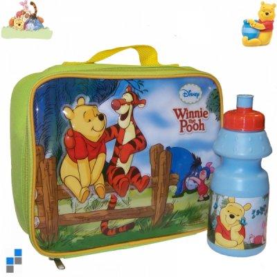 Brotzeittasche mit<br>Trinkflasche Pooh