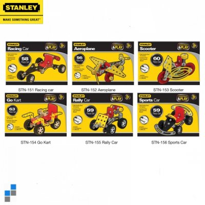 Construction<br> vehicles Stanley<br>60-Piece