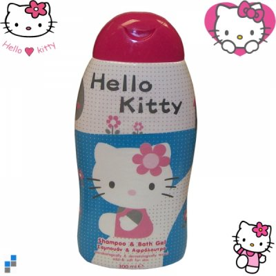 Shampoo and shower<br> gel 300ml 18cm<br>Hello Kitty