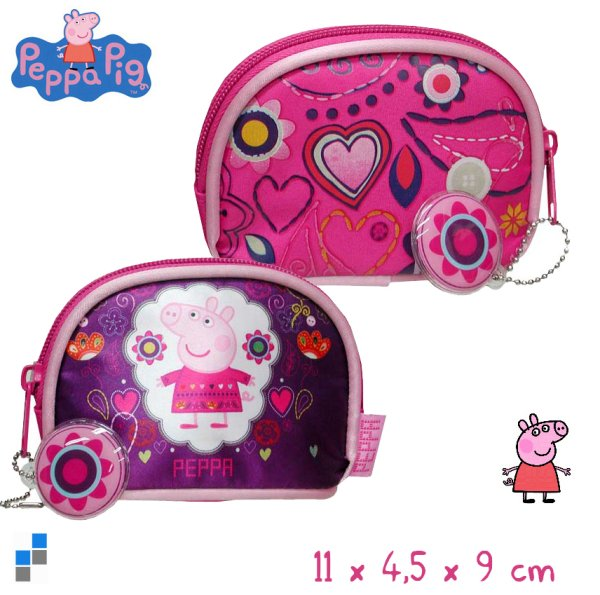 Coin pocket 11cm Peppa Pig