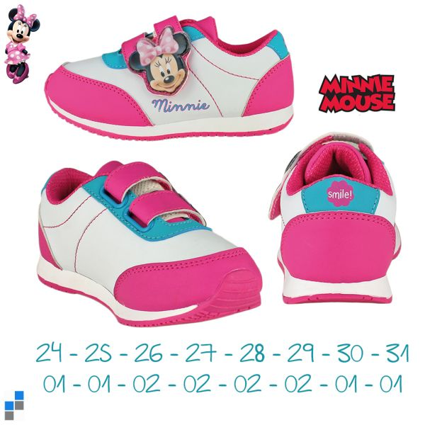 Sports shoes size<br> 24-31 sorted<br>Disney Minnie