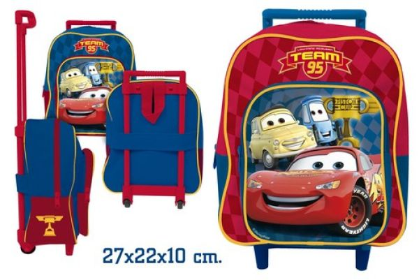 Trolley Suitcase<br>27cm 2 assorted Cars