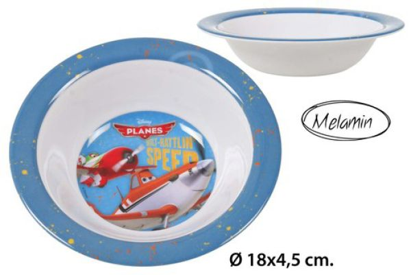 Melamin<br> Suppenschüssel<br> Ø18x4,5cm Disney ...