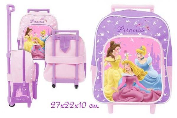Trolley Koffer<br> 27cm 2-fach<br>sortiert Princess