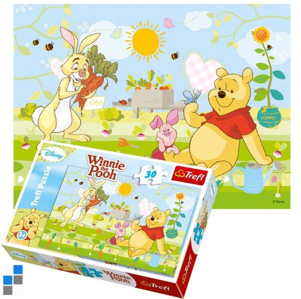 Puzzle 30 pcs<br> 27x20cm Winnie The<br>Pooh