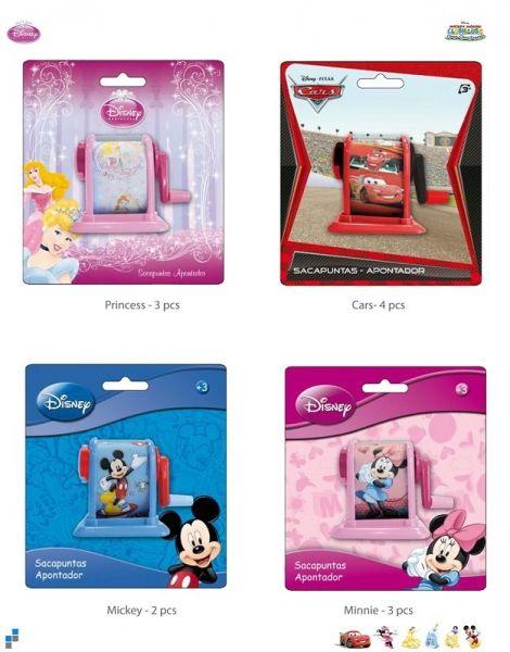 Puntenslijper met<br> hendel 4<br>geassorteerde Disney