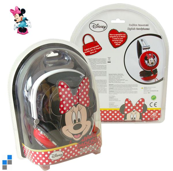 Minnie Earphone in<br>Blister