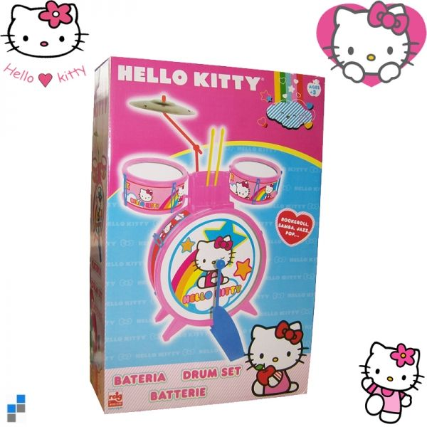 Kinder Drum Set<br>Hello Kitty 1490