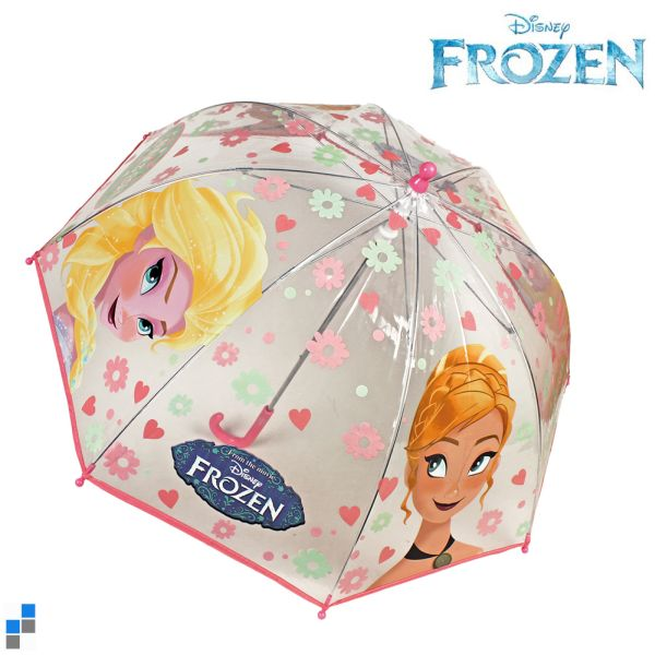 Umbrella<br> transparent Disney<br>frozen 45cm