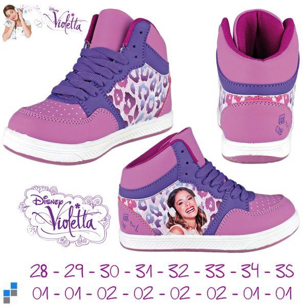 Scarpe da basket<br> taglia 28-35 di<br>Violetta