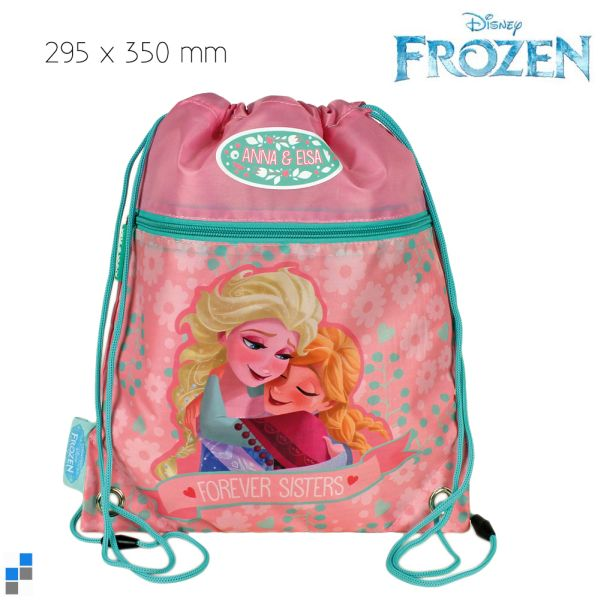 Sportbeutel Gym bag 30x35cm Disney Frozen