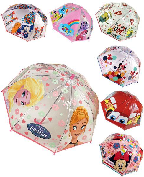 Parapluie transparent 90cm 7x Frozen & Co.
