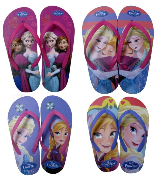 Flip Flops 4<br> assorted size<br>27-34 frozen