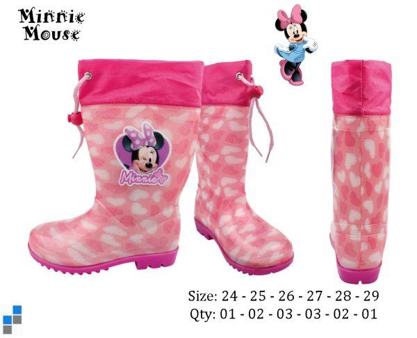 Csizma méret.<br> 24-29 válogatott<br>Disney Minnie
