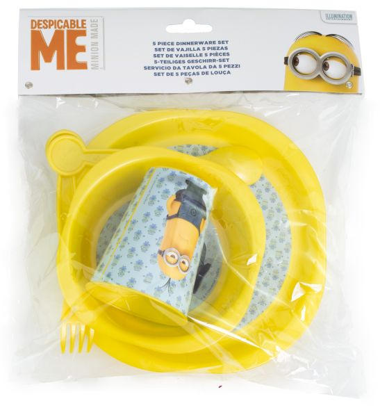 Breakfast Set<br>5-piece Minion
