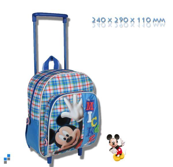 Vorschul Rucksack<br> Trolley - Disney<br>Mickey 29 cm
