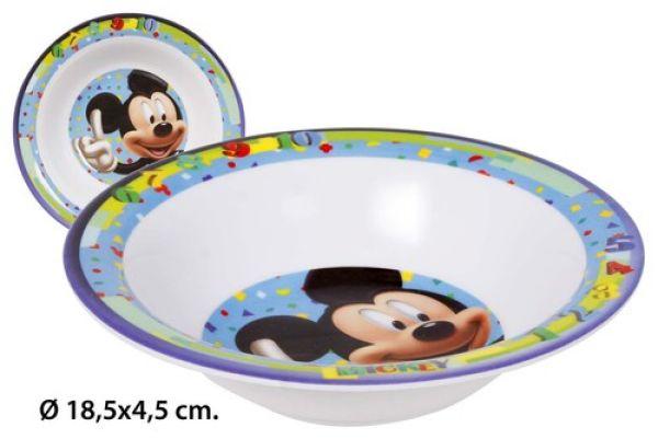 Melamin<br> Suppenschüssel<br> Ø18,5x4,5cm Disney ...