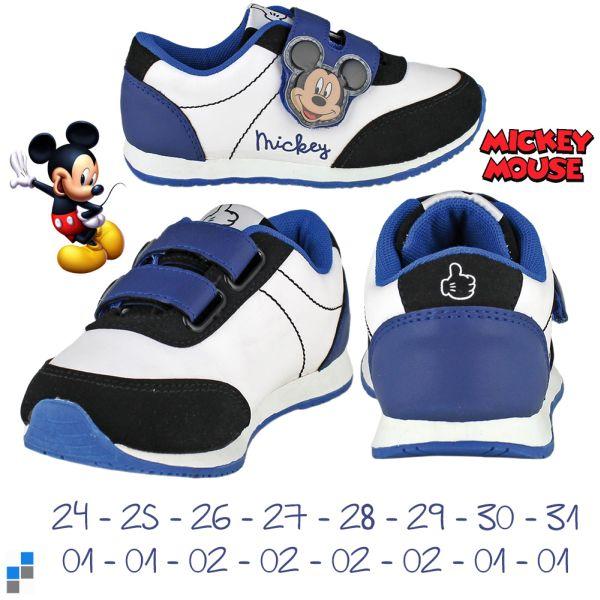 Sportschuhe Größe 24-31 sortiert Disney Mickey