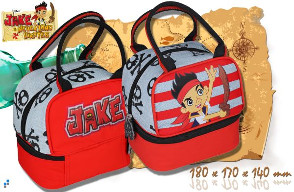 Kindergarten bag<br> with bread tray<br>Jake Pirate