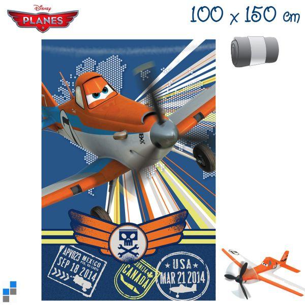 Polar Fleecedecke<br> 150x100cm Disney<br>Planes