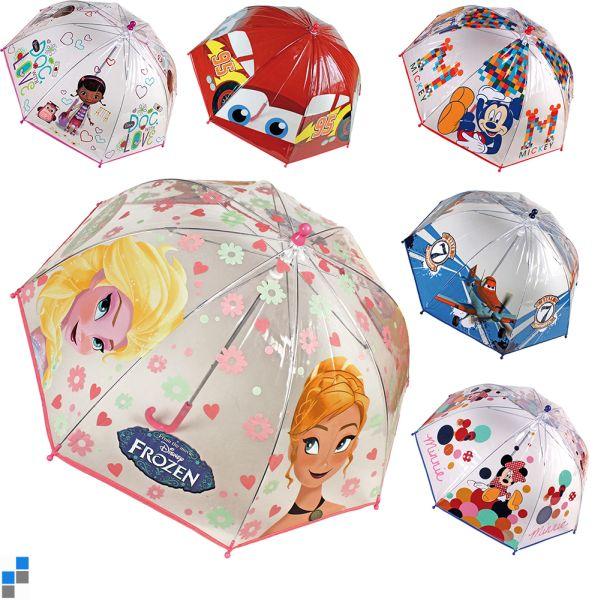 Parapluie transparent 90cm 6x Frozen & Co.