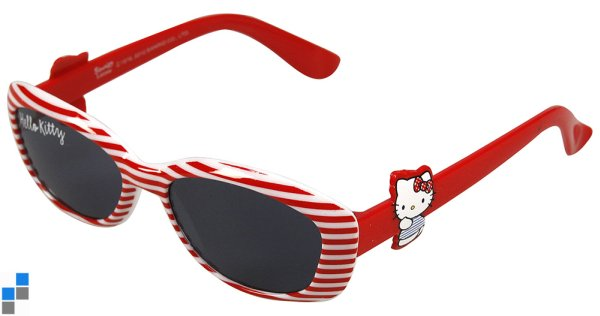 Sonnenbrille Rot Hello Kitty