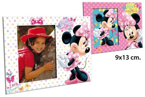 Cadre photo 9x13 cm 2 assortis Disney Minnie