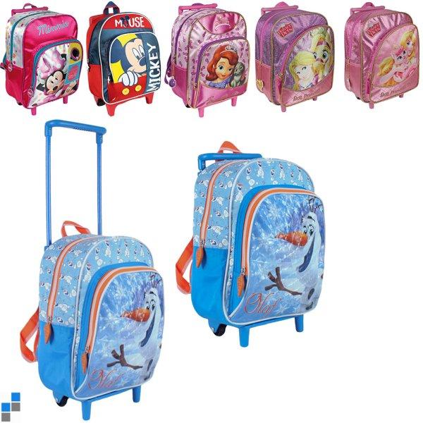 Sac à dos Trolley 6x Disney Frozen & Co.