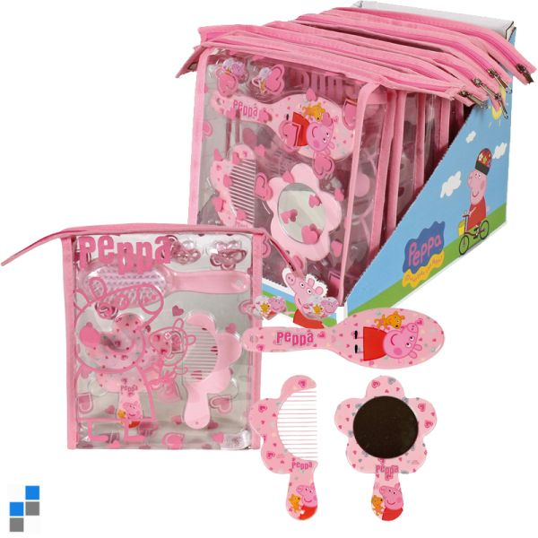Beauty Set 5-piece<br> set with pouch on<br>the display P