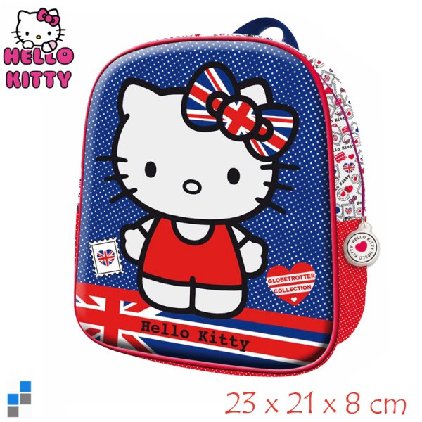 Rucksack 3D 23cm<br>Hello Kitty