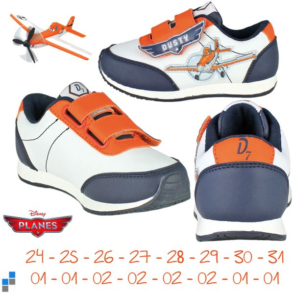 Sports shoes size<br> 24-31 sorted<br>Disney Planes