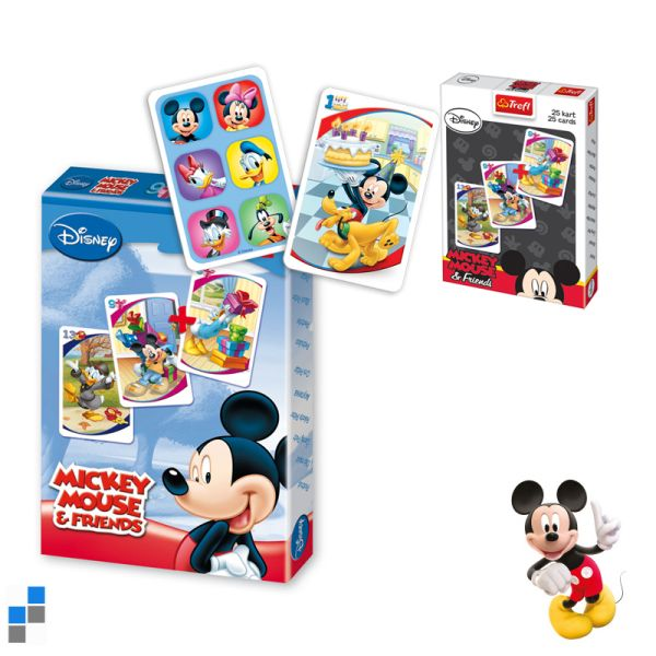 Fekete Péter<br> Playing Cards<br>Mickey a kijelzőn
