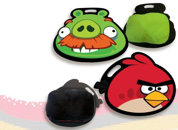 Tablettkissen<br> 2-fach sortiert<br>Angry Birds