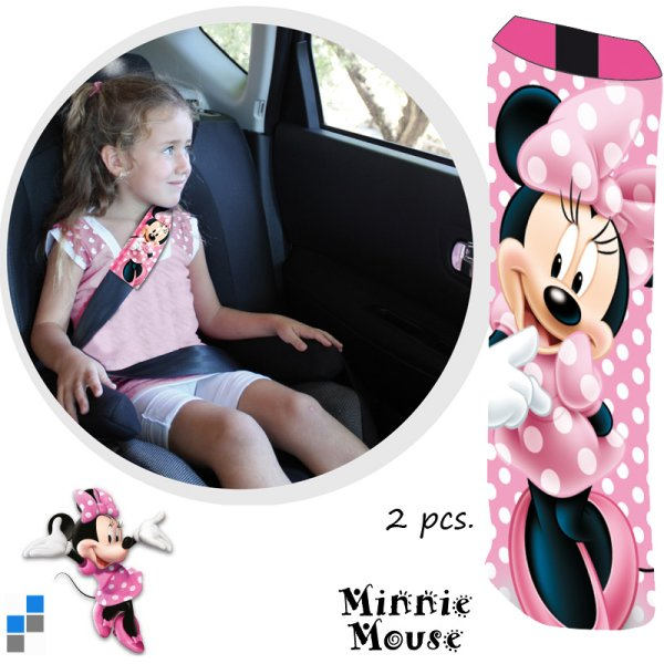 Car Gurtschoner<br>2-piece Minnie