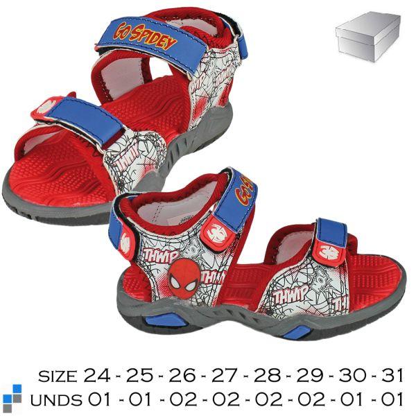 Sandalen Größe<br> 24-31 sortiert<br>Spiderman