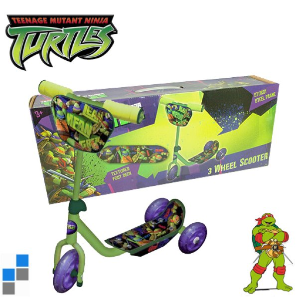 Tricycle Wheel<br> Scooter Ninja<br>Turtles