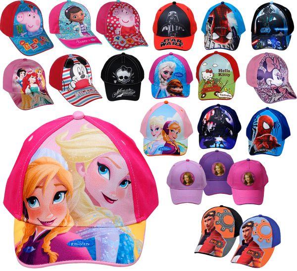 Baseball Caps 100% coton Disney Frozen & Co.