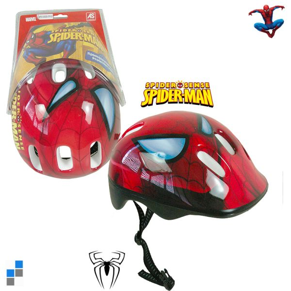Helmet Gr. 48-56<br> assorted 4 x S / 2<br>M x Spiderman