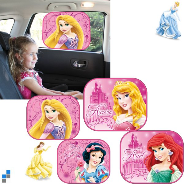 Car sunshade<br> 2-piece 4 assorted<br>Princes