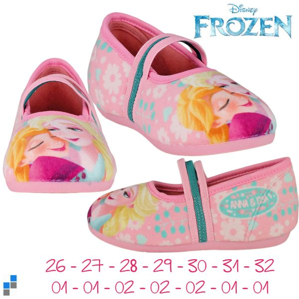 Ballerina slippers<br> size 26-32 sorted<br>frozen
