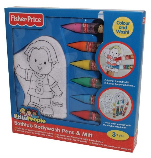 Badelappen mit Buntstiften Fisher Price