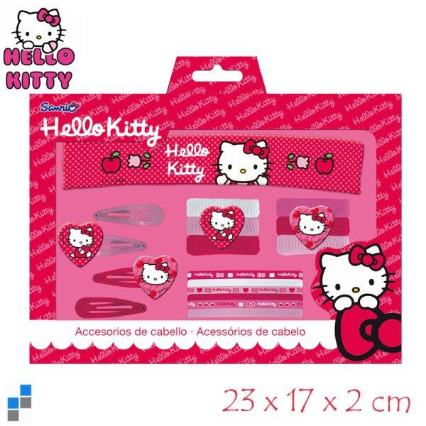Akcesoria do<br> włosów Zestaw<br>Hello Kitty