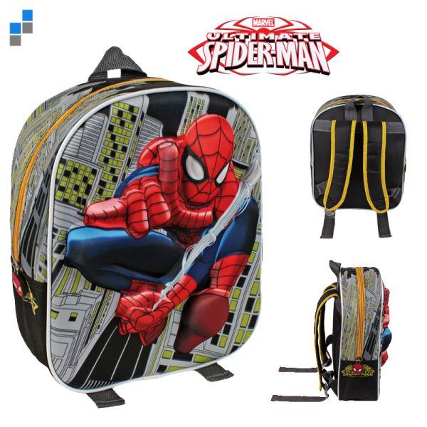 Rucksack 3D 31cm<br>Spiderman