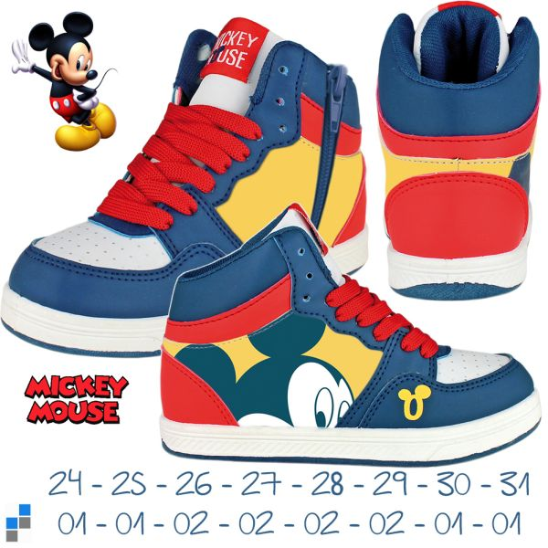 Sports Shoes 24-31<br>sorted  Mickey