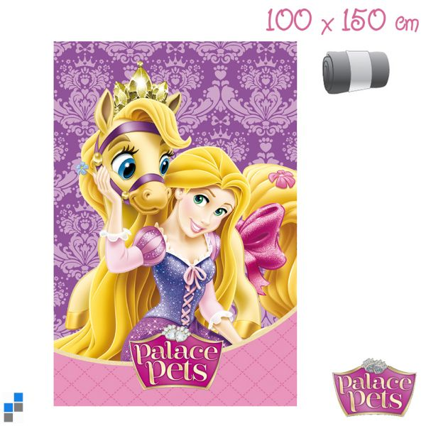 Polar Fleecedecke<br> 150x100cm Disney<br>Princess